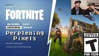 Perplexing Pixels: Fortnite Battle Royale (Xbox One X) (review/commentary) 256