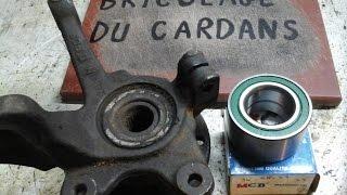 Jetta: Changer un roulement de roue avant - Démontage/montage