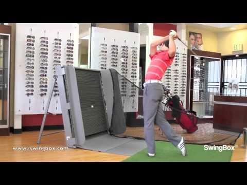The indoor golf hitting net, practice net for home garage backyard