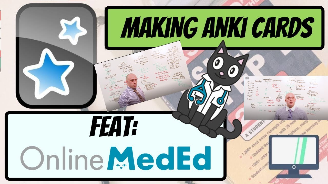 How to Make Anki Cards Using OnlineMedEd (Perfect for Rotations, STEP2 CK)