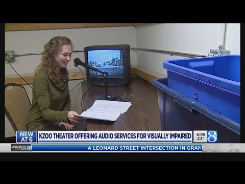 Kzoo Civic Theatre offers audio services for visually impaired
