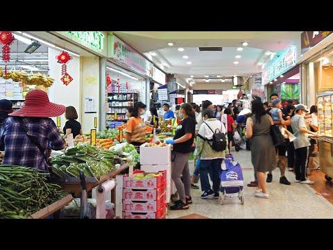Market & Shopping Street Walk On The Weekend In Cabramatta Sydney Australia