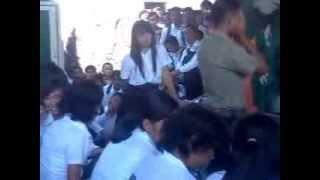 Suasana disaat pendaftaran Secaba PK TNI AD 2011 - Bandung