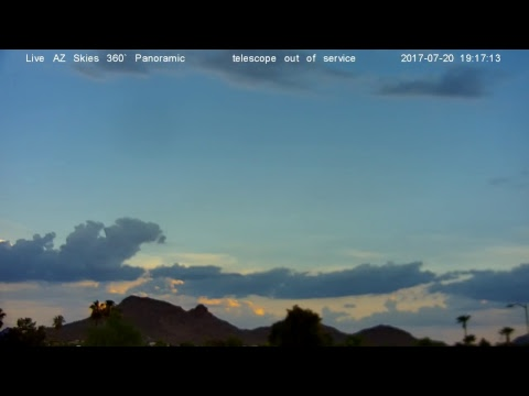 Gary El- 24/7 Live AZ Skies -360 Panoramic Live Stream