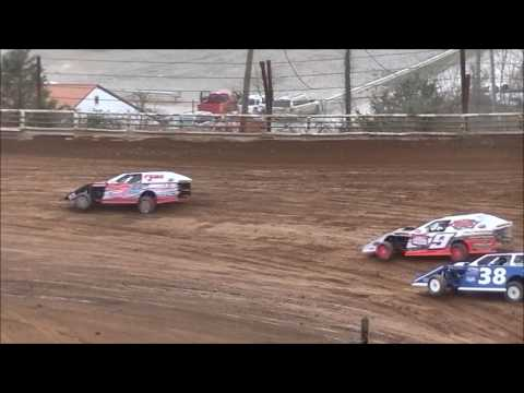 I-77 Speedway Modified Heat Race 3-25-17