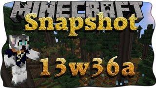 Minecraft Snapshot 13w36a [Deutsch/German] 1.7 - Neue Biome, Menüs uvm.