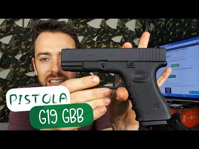 COMPACTA E POTENTE / PISTOLA G19 WE  - AIRSOFTS