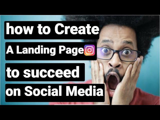 How To Create A Landing Page to succeed on Social Media | SUCCESS NET PROFIT APSense YouTube Tips