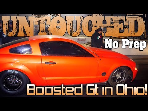 Boosted Gt drag races $8k Friday Night UNTOUCHED No Prep Ohio 2018