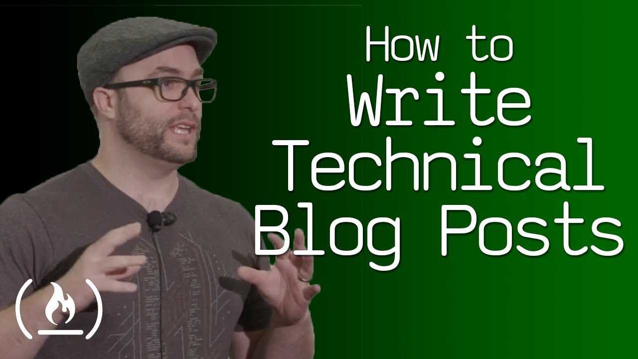 How to write technical blog posts - talk by Quincy Larson
