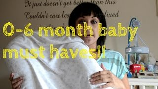 0-6 Month Baby Musthaves!!