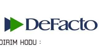 Defacto İndirim Kuponu Haziran - Temmuz - Ağustos 2014 (5 TL-15 TL)