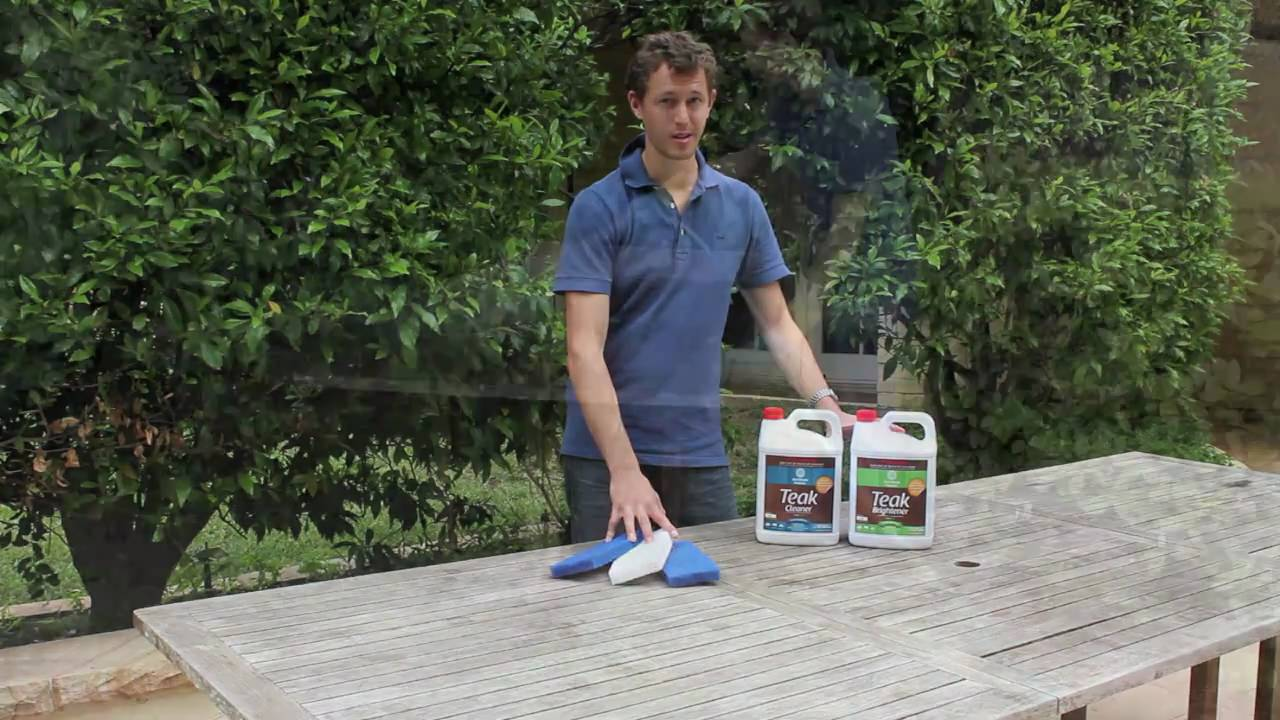 Best Teak Cleaner For Outdoor Furniture