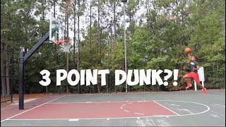 Is A 3 Point Line Dunk Possible