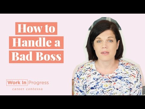 How to Handle a Bad Boss (How to Deal With a Toxic Boss + Wh