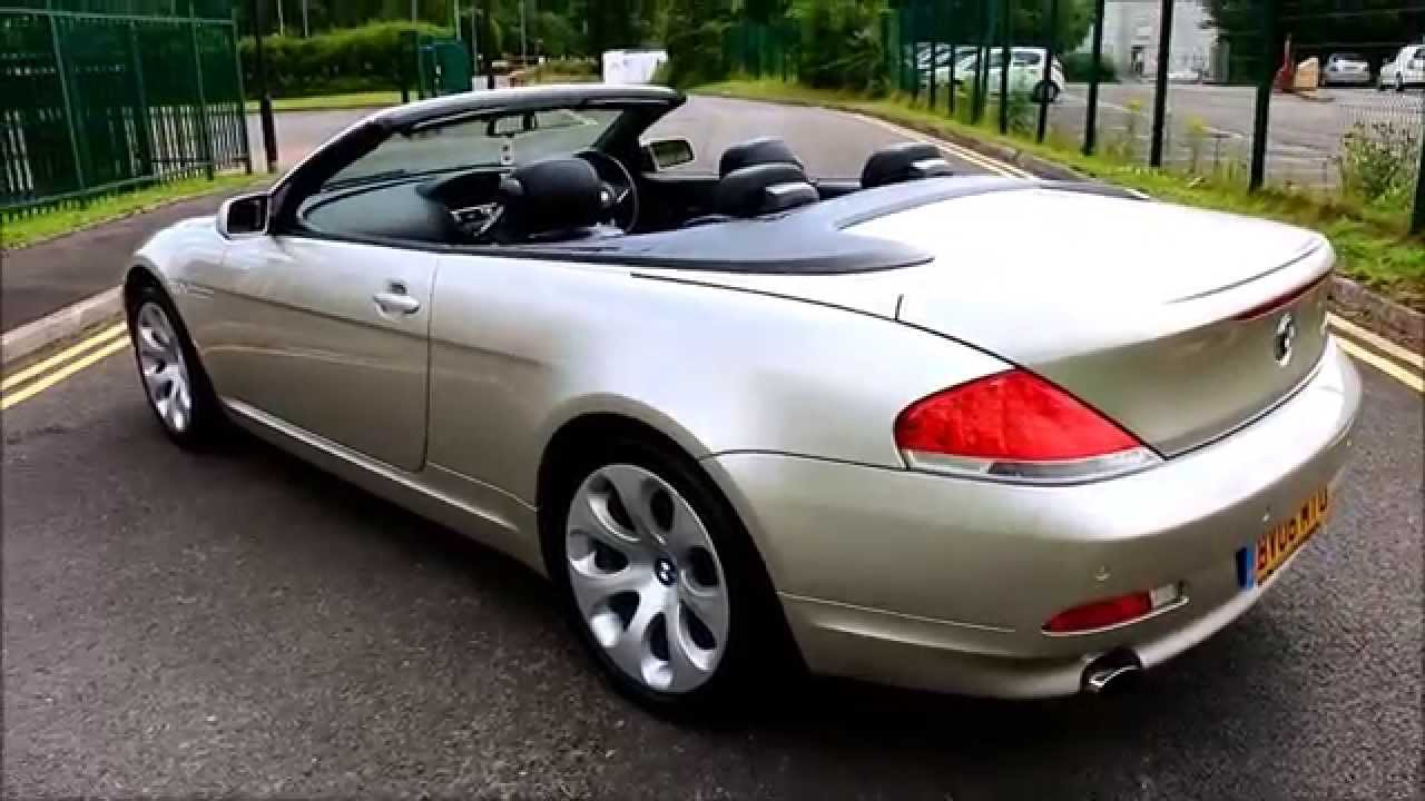 2006 bmw 650i convertible ultimate spec great value youtube. Black Bedroom Furniture Sets. Home Design Ideas