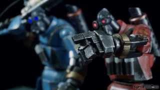 Обзор фигурок Robot Pyro (Team Fortress)