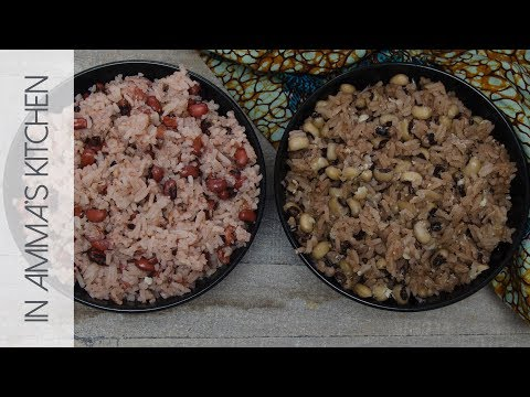 Waakye (Rice with Beans) Recipe | Waakye Leaf vs Baking Soda