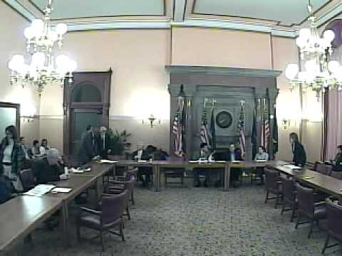 New York State Senate Committee on Environmental Conservation 1/10/2012