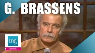 "Georges Brassens ""la Princesse et le croque notes"" (live) - archive vidéo INA"