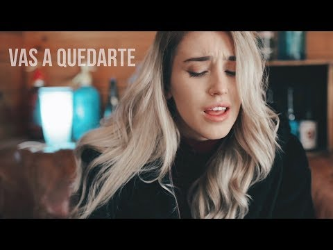 Vas a quedarte - Aitana - Xandra Garsem Cover