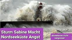 Sturm Sabine Über Nordseeküste. Knock Emden #sturmsabiene #stürme #nordseeküste #nordsee