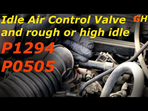 Idle Air Control Valve problems P1294 and P0505 - XJ Jeep Cherokee #8
