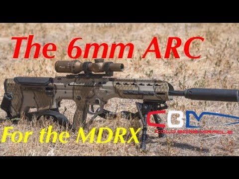 The 6mm Arc For The Desert Tech Mdrx Youtube
