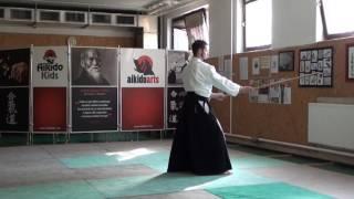 zengo no ido katate gedan gaeshi [TUTORIAL] Aikido advanced weapon technique