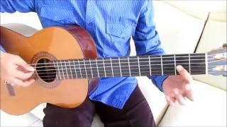 Belajar Kunci Gitar Ungu Dengan NafasMu Intro