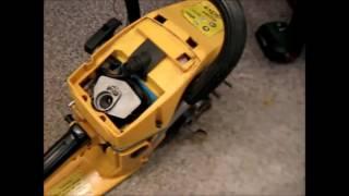 ЧОМУ ЗАЛИВАЄ СВІЧКУ? Як промити карбюратор бензопили; clean the carburetor of a chainsaw