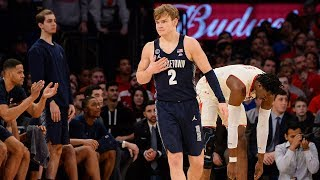 Georgetown's Mac McClung talks about how Hoyas closed out St. John's
