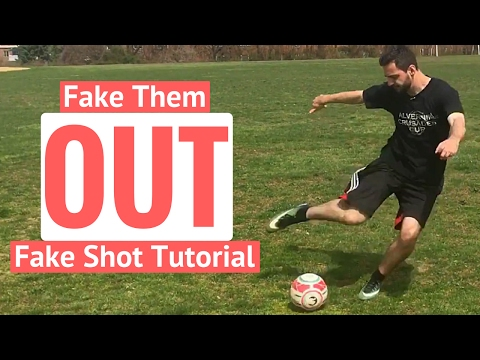 How To Do A Fake Shot In Football
