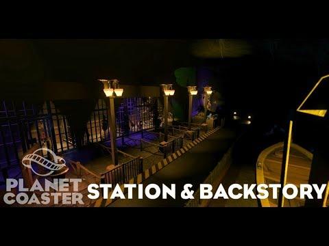 Planet Coaster Dark Ride Station & Back Story |
