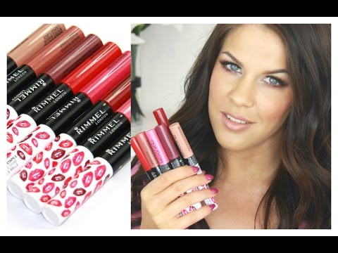 Rimmel Provocalips Swatch & Review
