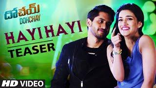hayi-hayi-song-teaser-dohchay-naga-chaitanya-kriti-sanon