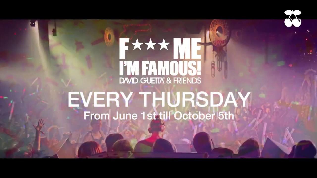 Download F*** Me I'm Famous - David Guetta Ibiza 2017