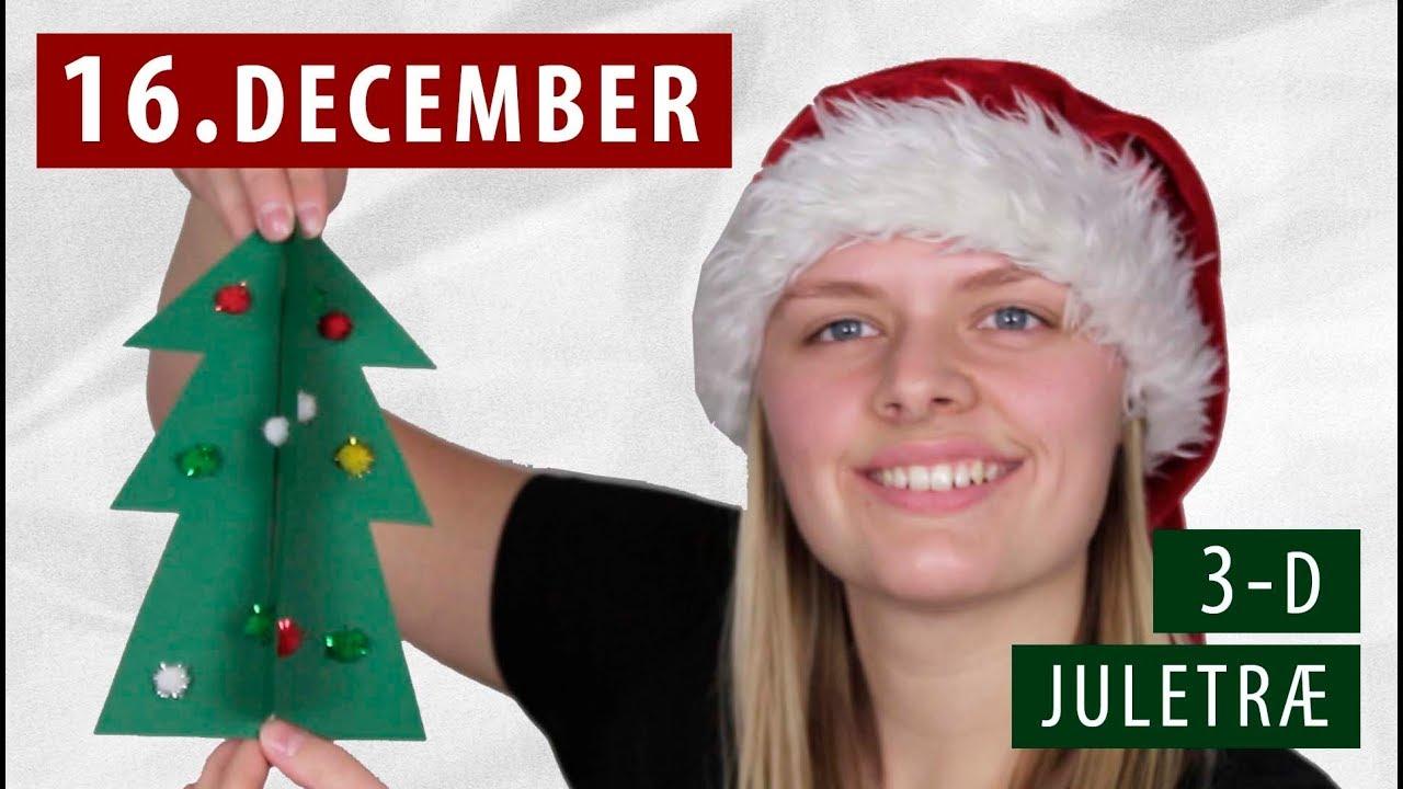Lav et 3-D JULETRÆ  - DIY | 16. December