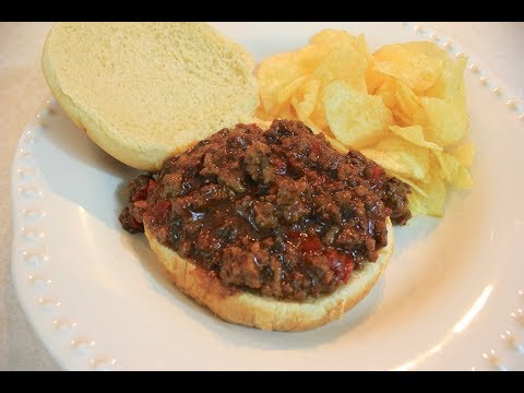 Crockpot BBQ Sloppy Joes: Ground Beef Crockpot Recipes | Sloppy Joe Recipes