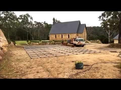 10m X 15m Marquee W/ Flooring Installation Timelapse