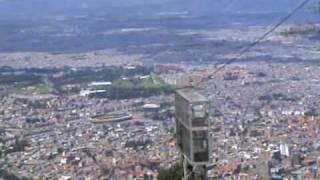 Vue de Bogota depuis Montserrat