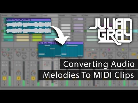 Convert Audio Melodies To Midi!