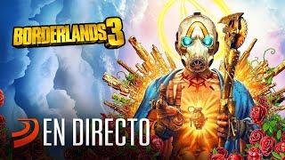 Psicópatas, arena, sangre, metralla... ¡sí! Es tarde de Borderlands 3. Gameplay en directo
