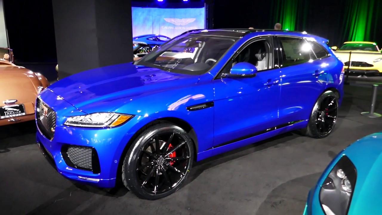 New 2018 Jaguar F-Pace SUV - Galpin Auto Sports Custom Car - 2017 LA Auto Show, Los Angeles CA ...