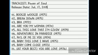COMPILATION - POWER OF SOUL: R&B Songs of the 70s (Including The Isley Brothers)