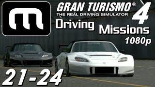 Gran Turismo 4 [1080p] - Mission Pack #3 & Prize Car!