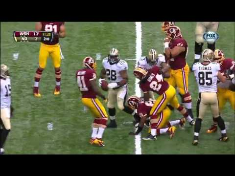 2012 - Redskins @ Saints Week 1