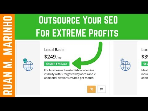 How To Outsource Your SEO While Being EXTREMELY Profitable [The Tool I Use]