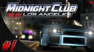 Midnight Club: LA Gameplay Walkthrough w/ Pixelz Part 1 - Welcome to Los Angeles