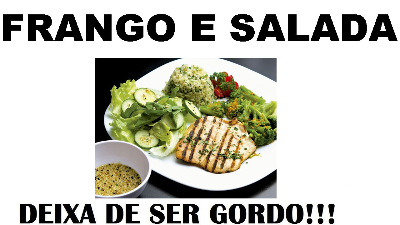 Com frango salada dieta